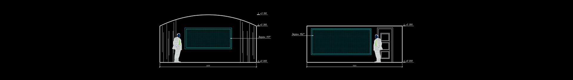 Сравнение диагоналей экрана